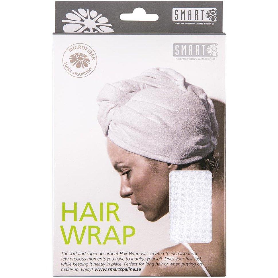 Тюрбан для сушки волос из микроволокна SMART
