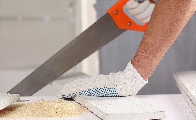Перчатки трикотажные – это хороший выбор для строительных работ