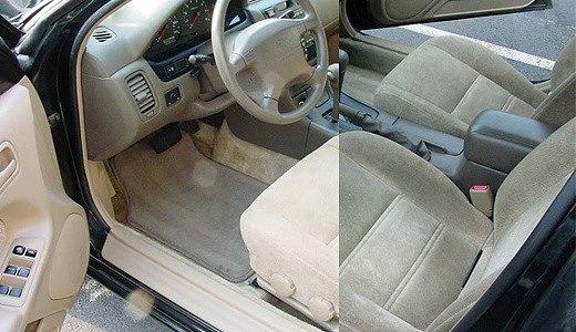 Салон автомобиля после очистки меняется в лучшую сторону