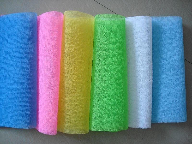Мочалки-полотенца являются неплохим выбором для вашей ванной комнаты.