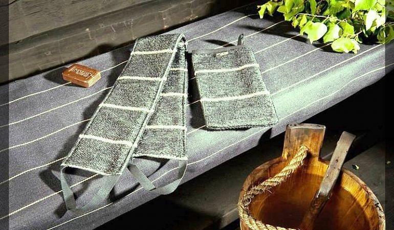 Льняные мочалки хорошо очищают кожу, но требуют специальный уход.