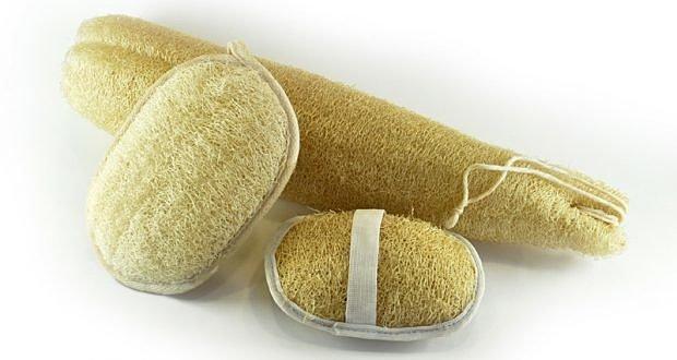 Мочалка из люфы хорошо подходят для глубокой очистки кожи.